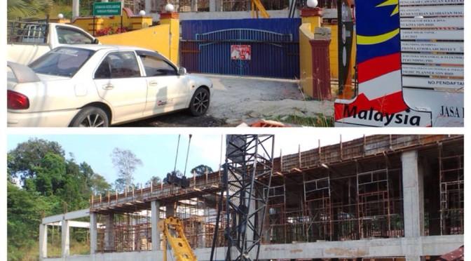 Hospital Jeli (Blok Baru) Dalam Pembinaan