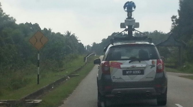 Google Streetview Car Spotted @ Pasir Mas