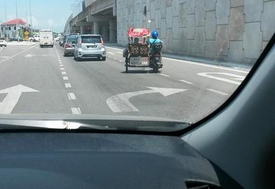Bike trishaw