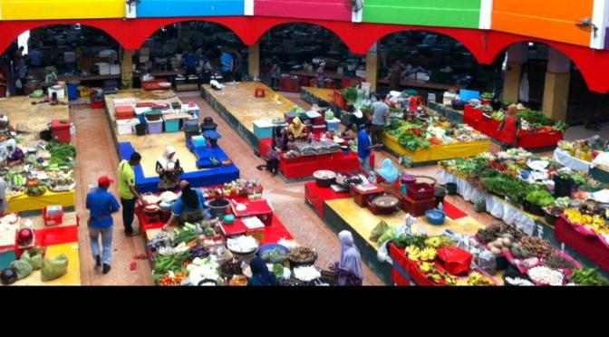 Colourful Pasar Siti Khadijah