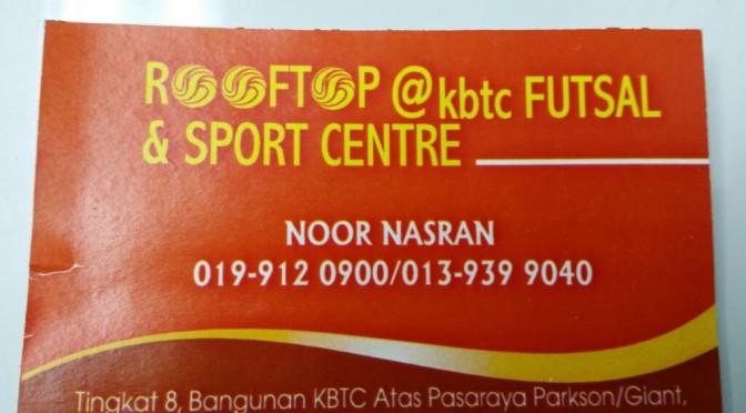 Futsal Roof Top KBTC