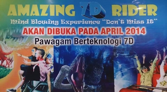 Amazing Rider 7D Cinema di KB Mall