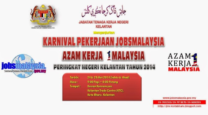 Karnival Pekerjaan JobsMalaysia Azam Kerja 1Malaysia