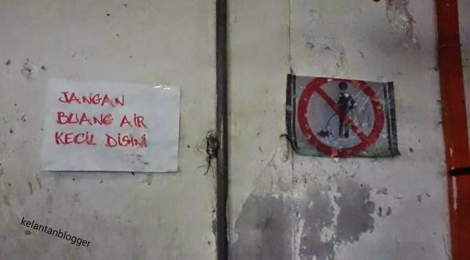 Dilarang Kencing Merata-rata