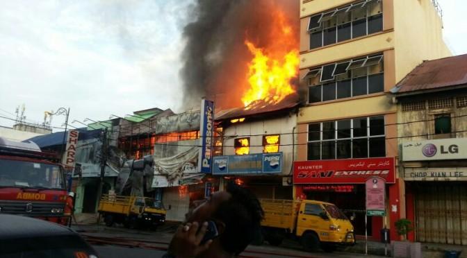 Kebakaran Bandar Pasir Mas