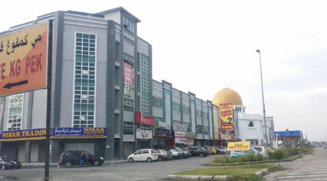 Bandar Satelit Pasir Tumboh: Fasa 1